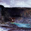 K. Jackson, Carnsew: Across the Quarry © Falmouth Art Gallery
